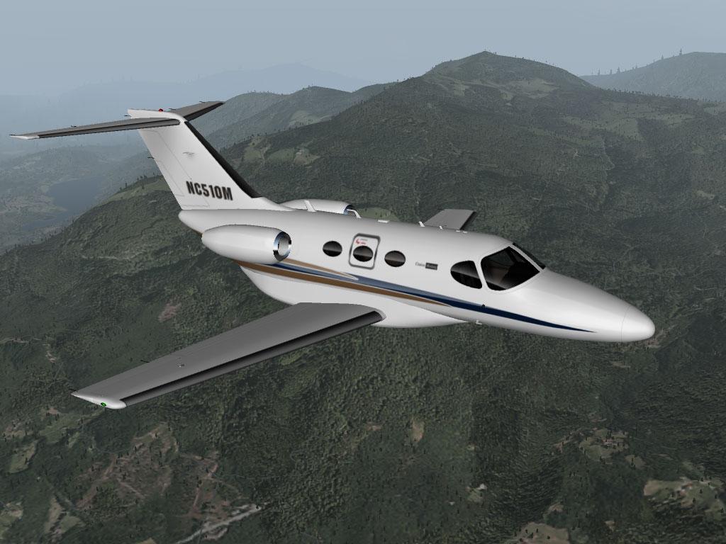 Cessna Citation Mustang Simulator Photo